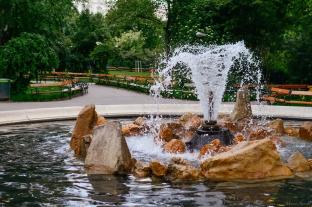 Fontaine du Rathauspark