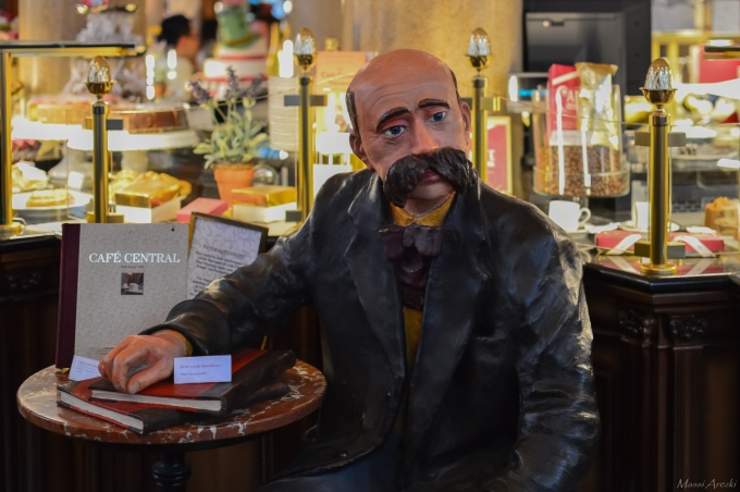 Peter Altenberg, écrivain Autrichien habitué du Café Central