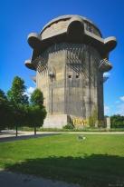 Tour de la DCA, Flaktürme en Allemand, utilisée pour se défendre des attaques aérienne par la Luftwaffe. Vienne, Autriche