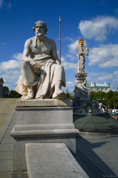 Thucydide devant Athéna